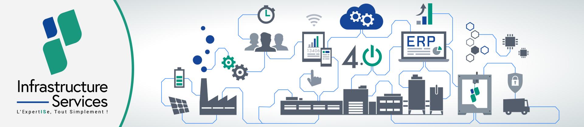 Infrastructure Services accompagne depuis de nombreuses années les PME et les grands comptes dans leur transformation digitale autour de 3 offres et 3 expertises